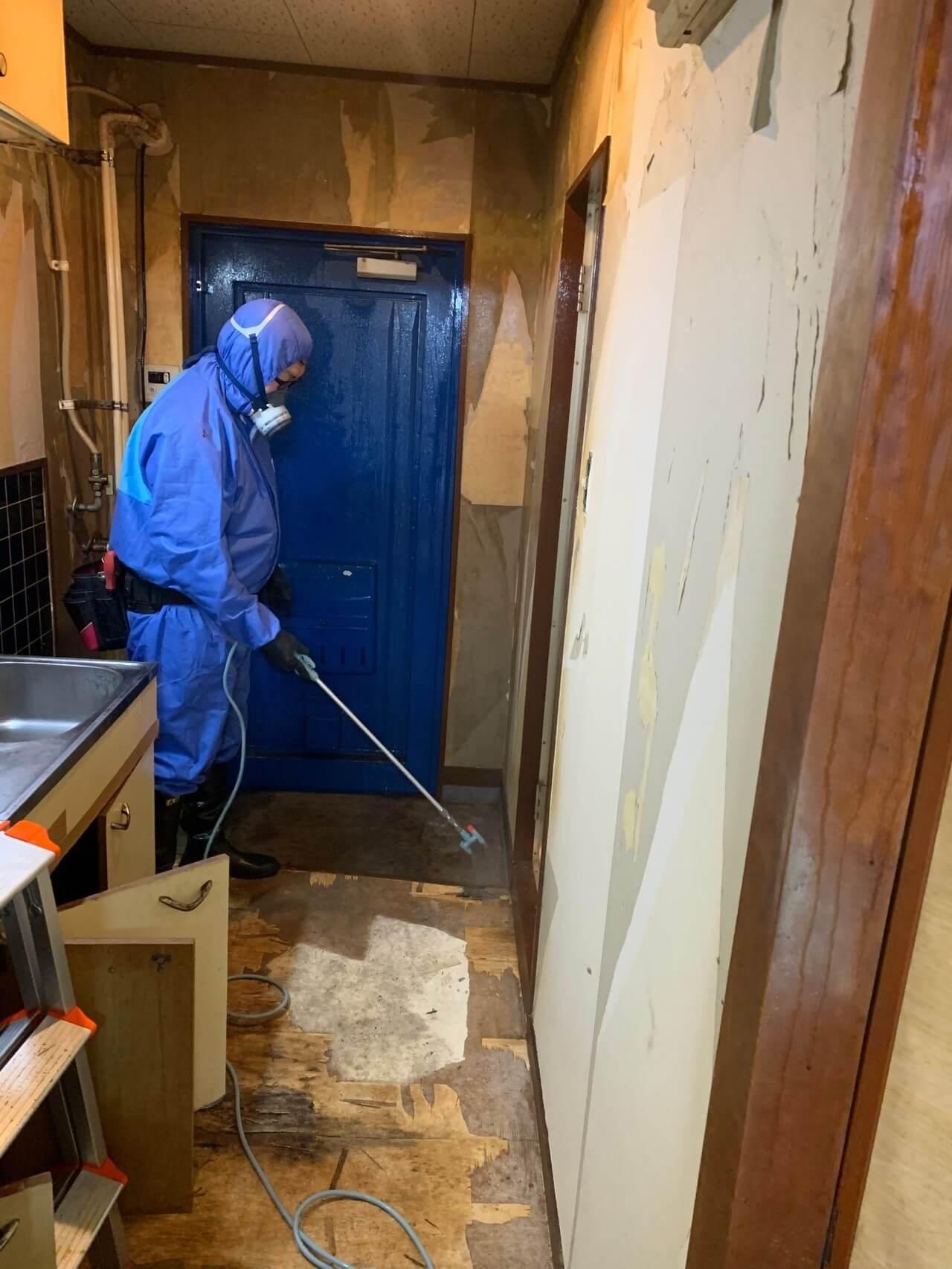 ゴミ屋敷の特殊清掃!
